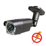 Уличная AHD 720p ИК-видеокамера (IMX238+NVP2431H) с вариофокальным объективом и грозозащитой