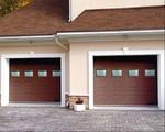 Гаражные ворота Hermann EPU 40, 2750 х 2375 мм (пружина растяжения)